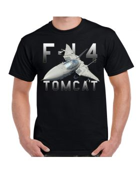 F-14 Tomcat Mens Black T-Shirt