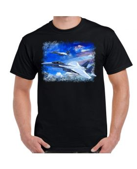 F-15 Eagles In The Clouds Men's T-Shirt