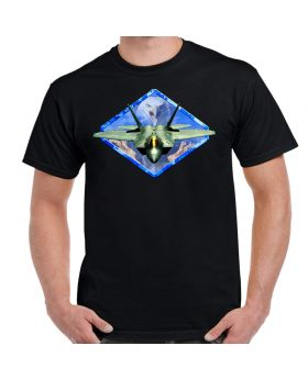 F-22 Raptor Diamond Eagle Men's T-Shirt