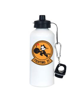 Tomcatters Fighting 31 Aluminum Water Bottle