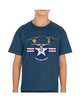 I'm Plane Crazy Youth's T-Shirt