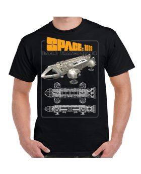 Space 1999 Eagle Color Schematic Adult T-Shirt