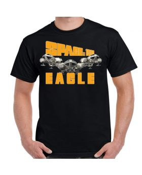 Space 1999 Three Eagles Adult T-Shirt