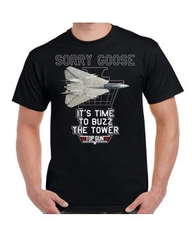 Top Gun It's Time To Buzz The Tower T-Shirt