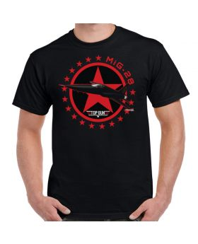 Top Gun Inspired Top Gun MiG-28 Design T-Shirt