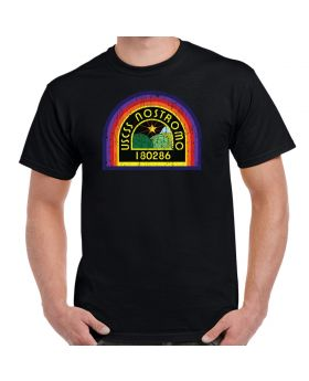 Nostromo Patch Distressed Adult T-Shirt