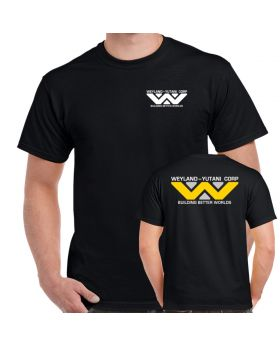 Weyland Yutani Corp Logo Double Sided Adult T-Shirt