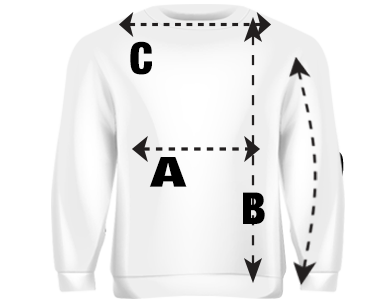 Mens Sweatshirt Size Guide